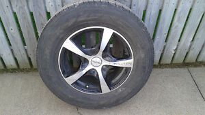 "Set of 16"" Rims and tires"