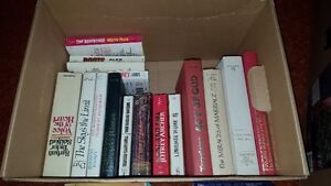 Box of Vintage Books & a Picture Frame & Vintange Kids 70s toy