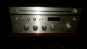 Complete Vintage 70s silver faced Technics A monster amp system