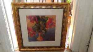 Flower Pic with Decorative Gold Frame Stratford Kitchener Area image 1