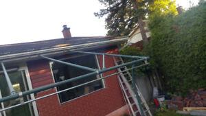 Exterior sunshelter/canopy/gazebo