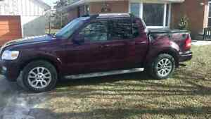 2007 Ford Explorer Sport Trac Limited.
