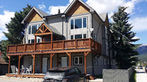 Fourplex unit right downtown Canmore