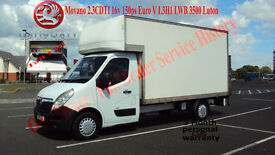 2012 VAUXHALL MOVANO WHITE DIESEL VAN 2.3CDTI 16v 150ps Euro V L3H1 LWB 3500