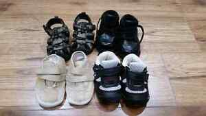4 pairs of size 3 shoes