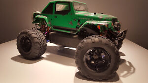Hpi savage xs with lot of up upgrades !! West Island Greater Montréal image 4