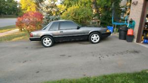 1991 Mustang Notchback