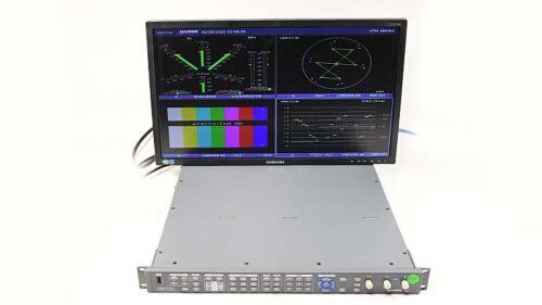 Harris Videotek VTM-4100 PKG Waveform Monitor Opt 40 SD/HD A3-OPT-2