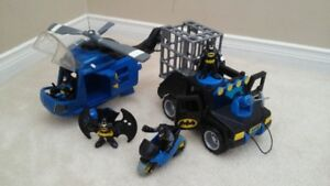 BATMAN HELICOPTER AND MOBILES