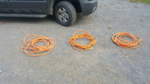 3 good 50 foot vinyl air hoses quarter inch