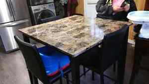 Kitchen table trade for a bigger one.