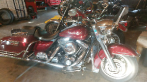 2002 Harley Road King to trade for evo Softail or Dyna