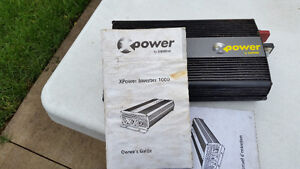 X Power Inverter 1000 Cambridge Kitchener Area image 2