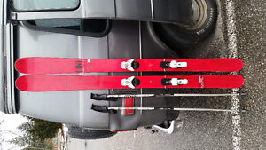 Skis w/ set. 186cm Pow Skis! $300 OBO help me out!