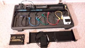 Pedalboard, wireless, tuner. DI box