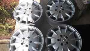 Mercedes rims Peterborough Peterborough Area image 1