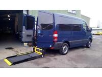 SOLD Mercedes-Benz Sprinter 2.1CDI AUTOMATIC SWB 210 Wheelchair Disabled Access