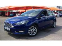 2015 Ford Focus 1.0 EcoBoost Titanium 5dr Manual Petrol Hatchback