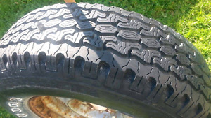 FORD RANGER - tire and rim