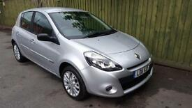 Renault Clio 1.2 Dynamique Tom Tom. SH. WARRANTY. AC. SATNAV. CD/AUX. ALLOYS.