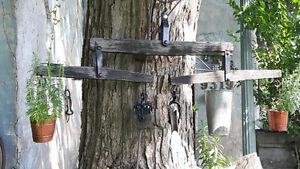 ANTIQUE WHIPPLE TREES OR YOKE+ MILK CAN/HAY KNIFE*SEE EACH PRICE