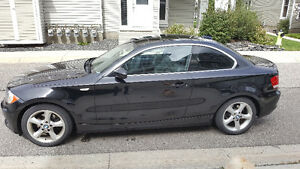 2009 BMW 128i  black Coupe (2 door)