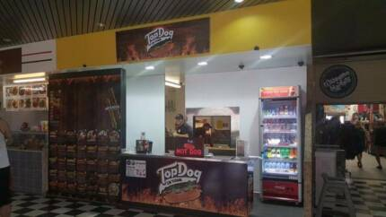 Great Gourmet Hot Dog Food Hall Stand - After a Quick Sale!