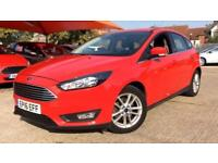 2016 Ford Focus 1.0 EcoBoost 125 Zetec Automatic Petrol Hatchback