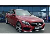 2017 Mercedes-Benz C-CLASS C250d AMG Line Premium Plus 4dr Auto Diesel Saloon Sa