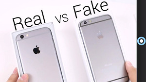 Iphone warning fake only one way to find out