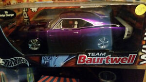 Awesome 1969 Dodge Charger metallic purple Hot Wheels new in box London Ontario image 1