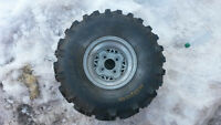 polaris explorer 400 wheels and tires