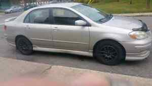 Toyota Corolla 2003 S Automatic AC working fully loaded