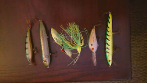 Bass fishing  lures for sale.