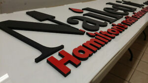 Sign making, decals, vehicle graphics, large format printing