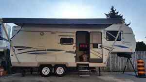 New 20ft Awning 5th Wheel Citation Mint