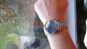 Omega Watch Speedmaster Date Automatic Blue Dial 3511.80 Windsor Region Ontario image 1