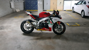 Aprilia RSV4 APRC ABS 2014 Rushcutters Bay Inner Sydney Preview