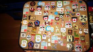 2015 Pan Am Games pin or Blue Jays Rare pin or Jays Bobblehead