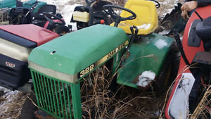 Wrecking Lawn & Garden Tractors for parts!!