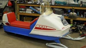 1969 Polaris snowmobile