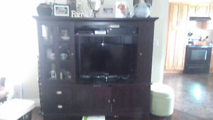 TV cabinet with TONS of storage
