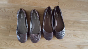 Two pairs ALDO shoes