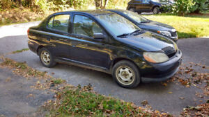 2001 Toyota Echo with Like-New Winter tires