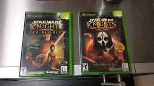 Starwars knights of the old republic collection