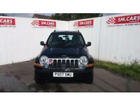 2007 07 JEEP CHEROKEE 2.8TD (161bhp) 4X4 LIMITED,GREAT VALUE,TOWBAR,GOOD RUNNER.