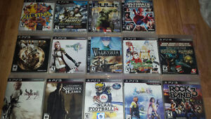 Various PS3 Games for Sale or Trade