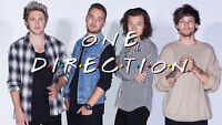 ONE DIRECTION TICKETS - SECTION A1, ROW AA!!!!!