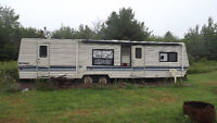 Travel trailer and or land