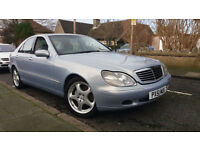 2002 51 MERCEDES BENZ S320 CDi AUTOMATIC.STUNNING COLOUR.NEW BRAKES ALL ROUND.